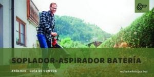 mejores sopladores-aspiradores de batería